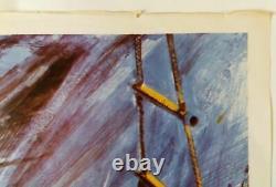 Quand Huit Bells Toll Original Uk Quad Affiche De Film 1971 Brian Bysud Artist