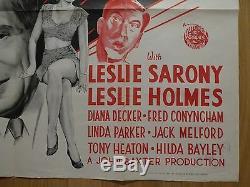 Quand Vous Parlez À La Maison (1948) Affiche Originale Du Film / Comédien Britannique, Frank Randle