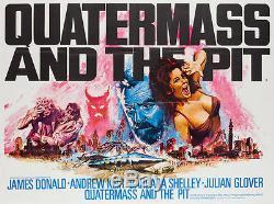 Quatermass Original Et Le Pit, Affiche Britannique De Film / Film 1967, Quad