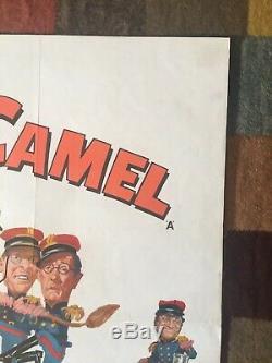 Rare Carry Originale Sur Follow That Camel Film Quad Poster