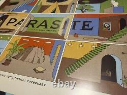 Rare La Boca Parasite Movie Poster (uk Quad)
