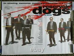 Reservoir Dogs (1992) Original Uk Quad Movie Poster Quentin Tarantino Tim Roth