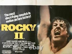 Rocky II Film Original Quad Poster 1979 Sylvester Stallone