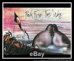 Rose Floyd Au Mur 30 X 40 Affiche De Film Uk Quad Original 1982
