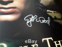 Seigneur Des Anneaux Signé Autographes Cinéma Originale D / S Affiche Quad Elijah Wood