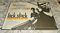 Serrure, Stock Et Deux Barils Fumants Original Uk Quad Movie Cinema Poster 1998