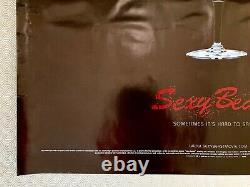 Sexy Beast Original Ds Film Quad Poster 2000 Ray Winstone Ben Kingsley