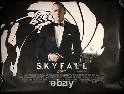 Skyfall Original Quad Movie Poster Daniel Craig James Bond 2012