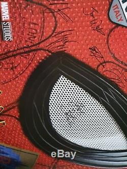 Spiderman Loin De Chez Nous Poster Entièrement Signé En Quad
