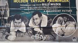Stalag 17 (1953) Affiche Du Film Quad British Cinema Classique Du Monde
