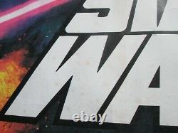 Star Wars Original Uk Quad Oscars Movie Poster Very Rare 1978 Rolled No Rips