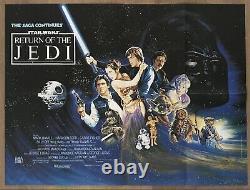Star Wars- Retour Du Jedi (1983)- Affiche De Cinéma Originale Quad