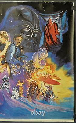 Star Wars Return Of The Jedi 1983 Affiche De Cinéma Originale De 30x40 Rolled Uk Quad