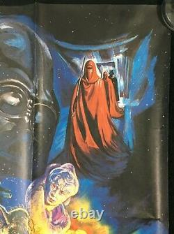 Star Wars Return Of The Jedi Original Quad Affiche De Cinéma Josh Kirby Artwork 1983