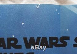 Star Wars, The Empire Strikes Back, Original 1980 Film Quad Film Britannique Poster