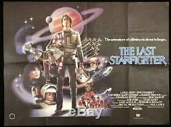Starfighter Originale Quad Movie Poster 1984