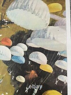 Station De Glace Zebra Linen Backed Withcert British Quad Film Poster (1969)