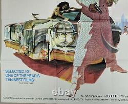 Superfly 1972 Original Uk Quad Film Movie Poster Ron O'neal