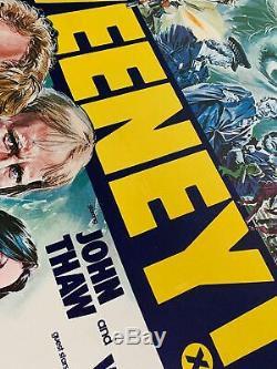 Sweeney! Royaume-uni (british) Quad Entoilée (1977) Affiche Du Film