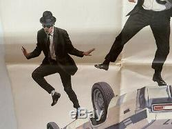 The Blues Brothers Royaume-uni D'origine Britannique Quad First Sortie De Film Affiche (1980)