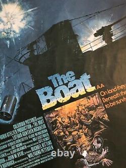 The Boat Das Boot Original Uk Movie Quad (1981)