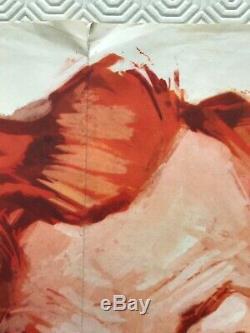 The Fast Lady Affiche Originale De Film Quadruple 1962 Julie Christie Fratini Art Bentley