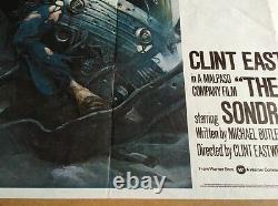 The Gauntlet -original British Quad Cinema Movie Affiche Clint Eastwood -1977