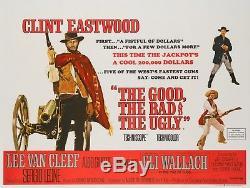 The Good, The Bad And The Ugly, Affiche Britannique De Film / Film 1966, Linge De Maison