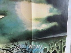 The House By The Cemetery Original Uk Quad Film Poster (1981) Lucio Fulci Rare