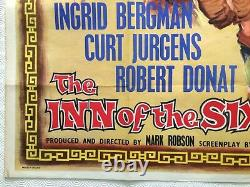 The Inn Of The Sixth Happyiness Original Uk Film Quad Poster 1958 Tom Chantrell