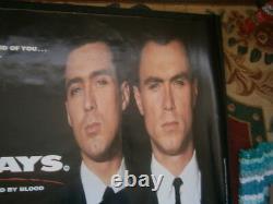 The Krays (1990) Affiche D'affiche De Rare Film D'origine Du Royaume-uni Quad