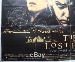 The Lost Boys, Original 1987 British Film Quad Film Cinéma Affiche