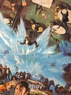 The Poseidon Adventure Uk British Quad (1972) Affiche De Film Originale