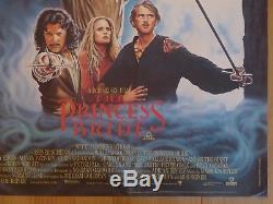 The Princess Bride (1987) Film Original Britannique / Affiche De Film, Aventure