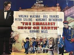 The Smallest Show On Earth Original Uk Quad Filmplakat 1957 Virginia Mckenna
