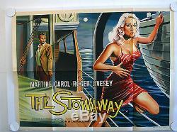 The Stowaway Original Uk Quad Film Poster