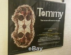 The Who Tommy Originale Du Film Quad Affiche Encadrée