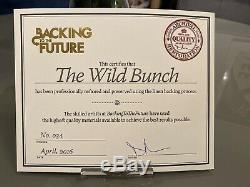 The Wild Bunch Originale Britannique Affiche De Film 1973 Rr Entoilée Quad Withcert