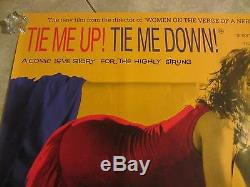 Tie Me Up Tie Me Affiche De Film Vers Le Bas Almodovar, Victoria Abril Originale Uk Quad
