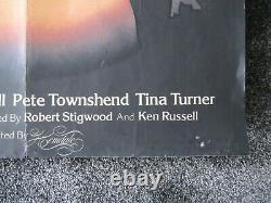 Tommy The Who 1975 Original Vintage Quad Film Affiche De Cinéma (30 X 40)