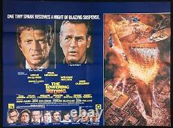 Towering Inferno Original Quad Affiche De Cinéma Steve Mcqueen Paul Newman