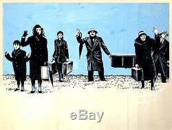 Traveling Players, The (1976), Affiche De Quad Britannique + Maquette De L'artiste