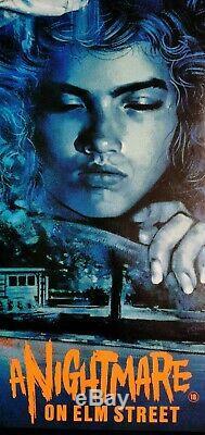 Un Cauchemar Sur Elm Street (1984) Affiche Originale Du Film Quad Britannique --rolled- Linenb'd