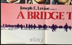 Un Pont Trop Loin Affiche De Cinéma Original Quad Sean Connery Dirk Bogarde 1977