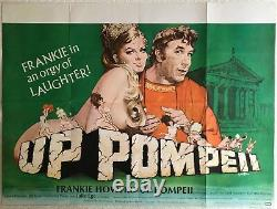 Up Pompeii Original Quad Movie Film Poster 1971 Frankie Howerd Arnaldo Putzu Art