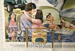 Vendredi 13 Original1980 Film Quad Poster Betsy Palmer Adrienne Roi