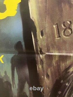 Ville Des Morts-vivants D'origine Uk Quad 30x40 (1980) Affiche De Film Lucio Fulci