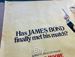 Voir James Bond To A Kill (1985) - Original Quad Roger Moore Film Affiche Du Film