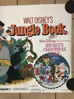 Walt Disney Jungle Book (1978 Release) Original Uk Movie Quad