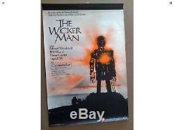 Wicker Man U. K. Vintage Film Cinéma Affiche De Publicité Pour Film Quad Art 007 1973